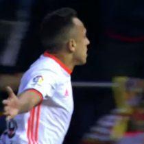 [VIDEO] Fabián Orellana anota ante el Real Madrid su primer gol con el Valencia