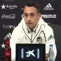 [VIDEO] Las primeras palabras de Fabián Orellana como nuevo jugador del Valencia