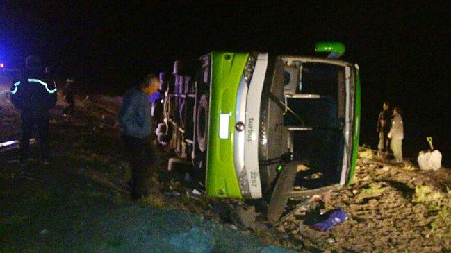 PDI confirmó muerte de chilena en accidente de Tur bus en Mendoza