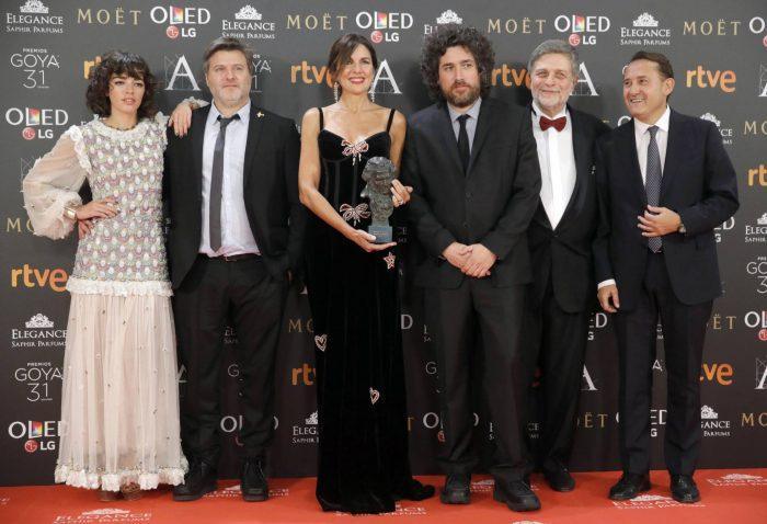 La argentina «El ciudadano ilustre» gana Goya a mejor película iberoamericana