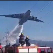 [VIDEO] El impactante registro del Ilyushin Il-76 en su paso y acción por Quilpué