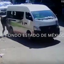 [VIDEO] De victimario a víctima: ladrón es arrastrado por camioneta al tratar de robar un celular