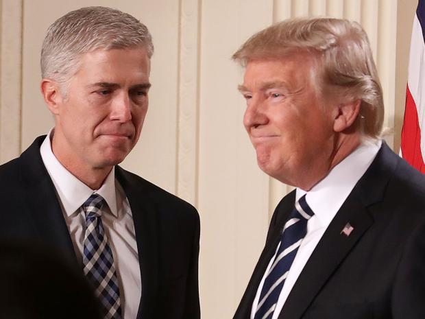 Trump elige a un férreo conservador para el Tribunal Supremo de EEUU