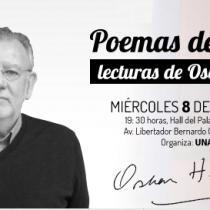 Lectura poética gratuita de poemas de amor con Oscar Hahn en Palacio Astoreca, Iquique