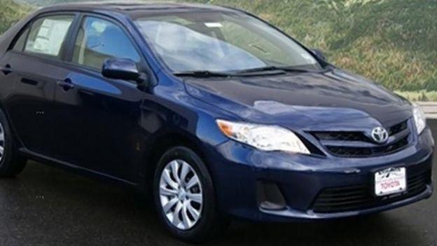 El sospechoso fue capturado conduciendo Toyota Corolla del sacerdote