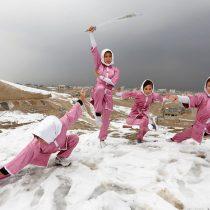 Así entrenan las valientes guerreras shaolin de Afganistán