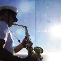 [VIDEO] El saludo de la Armada por el Día de los Enamorados al ritmo de George Michael