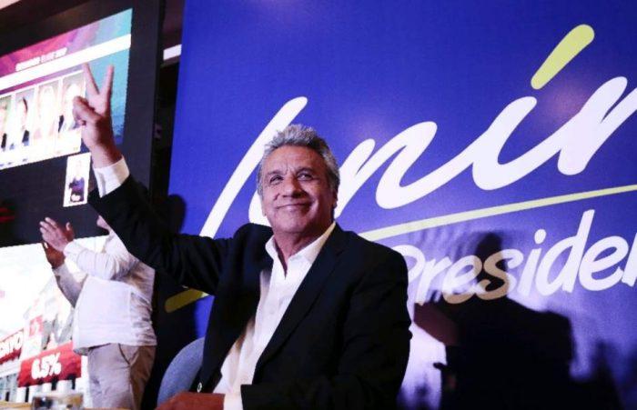 Elecciones presidenciales en Ecuador: el oficialista Lenín Moreno obtiene la mayoría de votos según resultados preliminares
