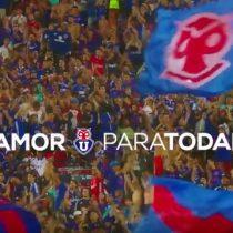 [VIDEO] Así celebró el día de los enamorados el club deportivo Universidad de Chile
