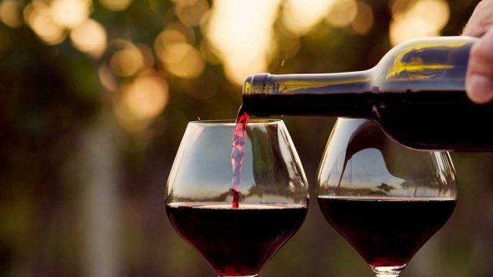 Sin Valentín de vino & swing