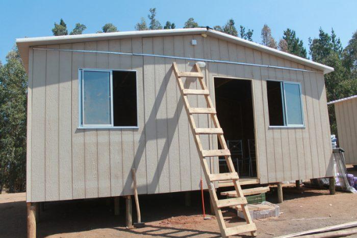 TECHO-Chile inicia construcción de 200 viviendas de emergencia y apunta a financiar 300 más