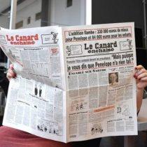 No a internet y sin publicidad: El secreto de la revista satírica centenaria que mantiene a raya a los poderosos de Francia