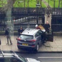Reportan una decena de heridos luego de un tiroteo en el exterior del parlamento británico