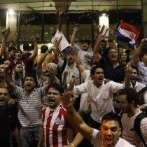 Manifestantes toman el Congreso en enfrentamientos con la policía en Paraguay