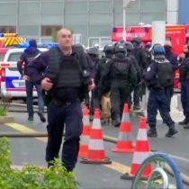 Francia: un hombre armado es muerto a balazos en el aeropuerto de París - Orly
