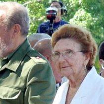 Muere Agustina, la hermana menor de Fidel Castro