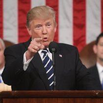 """Las 10 frases de Donald Trump en su discurso ante el Congreso: """"El tiempo de los pensamientos pequeños ha terminado"""""""