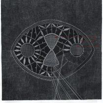 Francisca Benedetti presenta obras que confunden dibujo y textil en galería NAC
