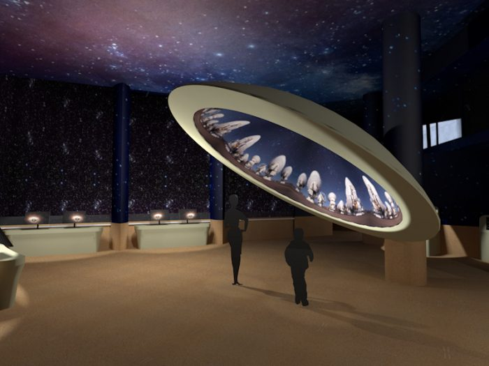 """""""Espacio Universo"""" del MIM, la futura sala de astronomía del Museo que no tiene parangón en la región"""