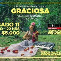 Uruguaya abre ciclo de humor en el Comedy