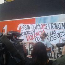 "Nos infiltramos en funa ñuñoína contra violencia de género en construcción: ""Tengo miedo a salir a la calle"", dice afectada"
