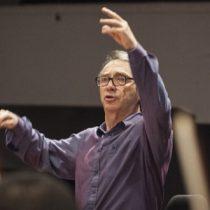 Leonid Grin, un director motivador en el segundo concierto del Baquedano