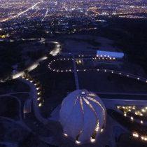 Del subterráneo de la nueva estación del Metro al Templo de adoración Universal Bahá'í : los panoramas de OH! Santiago