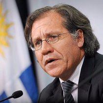 Secretario general de la OEA tacha de
