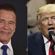 [VIDEO] La burla de Schwarzenegger a Donald Trump por sus bajos niveles de aprobación