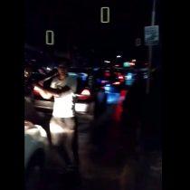 [VIDEO] La furiosa reacción de un taxista ante un chofer de Uber