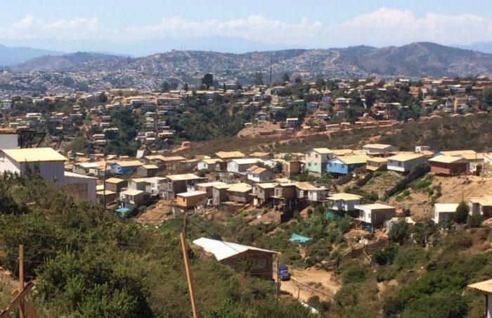 Vulnerabilidad de campamentos en Chile y riesgo de desastres