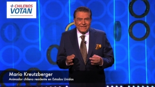 [VIDEO] Don Francisco invita a los chilenos a votar en el exterior