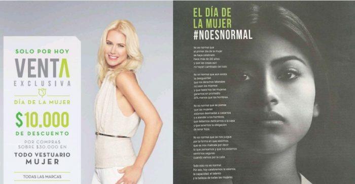 Las mujeres en Chile y Perú tenemos intereses distintos según publicidad de Falabella