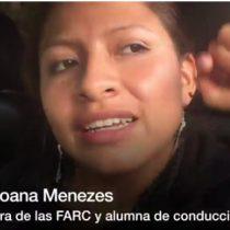 [VIDEO] Así aprenden a conducir las guerrilleras de las FARC