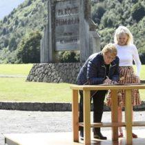 Conservación Patagónica: Kristine Tompkins firma acta de entrega de 407.625 hectáreas al fisco para crear nuevos parques nacionales