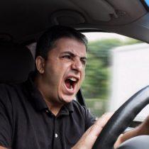 Agresividad de conductores eleva temor de los chilenos a sufrir un accidente de tránsito