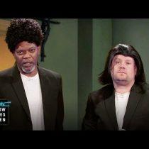 [VIDEO] Samuel L. Jackson revivió sus personajes más icónicos en 11 minutos junto a James Corden