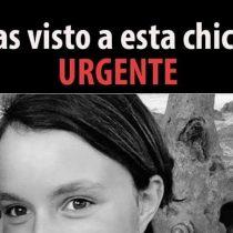Madre desesperada busca a su hija de 15 años que escapó de casa