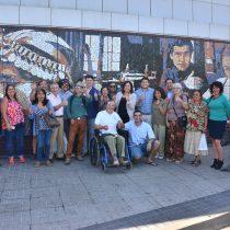 Nuevo mural de estación de Metro San Pablo fue elegido por los vecinos de la comuna