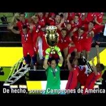 [VIDEO] «Chile primero» el divertido nuevo video de Nano en la espera del partido Chile-Argentina