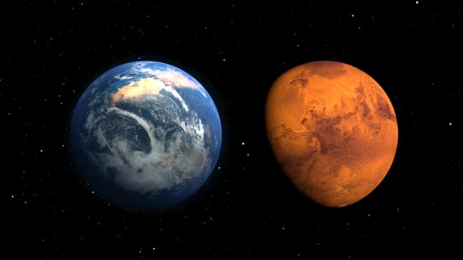 El plan de la NASA para transformar a Marte en un planeta habitable para los seres humanos