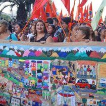 Marcha por Día Internacional de la Mujer: un carnaval alegre, artístico, colorido y profundo que llenó las calles del país