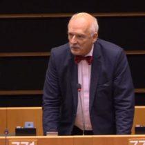 """[VIDEO] Eurodiputado polaco: """"Las mujeres tienen que ganar menos que los hombres"""""""