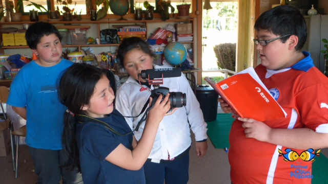 Festival de Cine Infantil «Ojo de Pescado» creará videoteca infantil inédita con las creaciones de los niños de todo Chile
