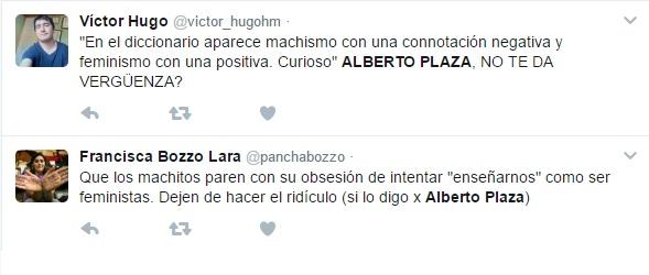 Alberto Plaza vuelve a la polémica con impactante carta anti feminismo - Imagen