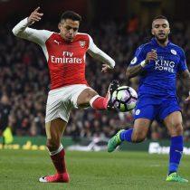 [VIDEO] Con ajustado 1 a 0 y participación de Alexis Sánchez, Arsenal vence al Leicester City en la Premier League