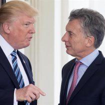 Trump entrega a Macri documentos desclasificados de la dictadura argentina
