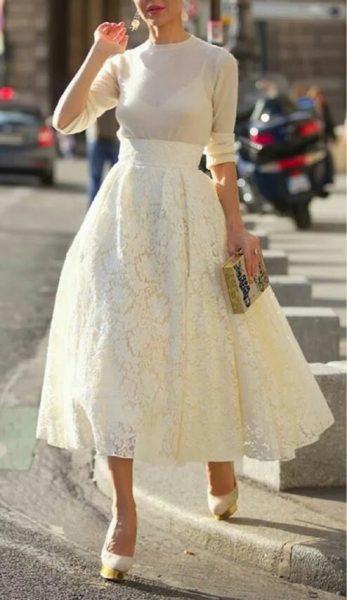 Faldas y vestidos globo  ¿es una moda para todas  - El Mostrador 0aa9b9364e4f