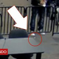[VIDEO] Un descuido desafortunado: el hombre al que se le cayó una bolsita de cocaína ante el juez