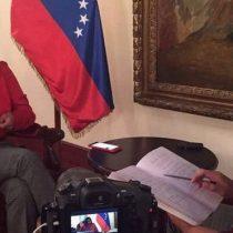 """Delcy Rodríguez, canciller de Venezuela, en exclusiva con BBC Mundo: """"No reconozco un gran descontento"""""""